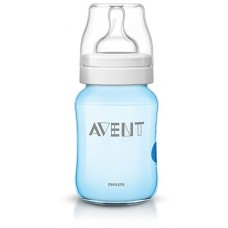 AVENT BIBERON DECORATO AZZURRO 260ML