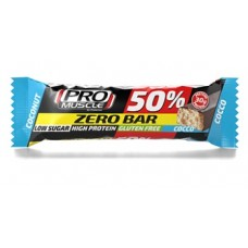 PROMUSCLE ZERO BAR COCCO 60G