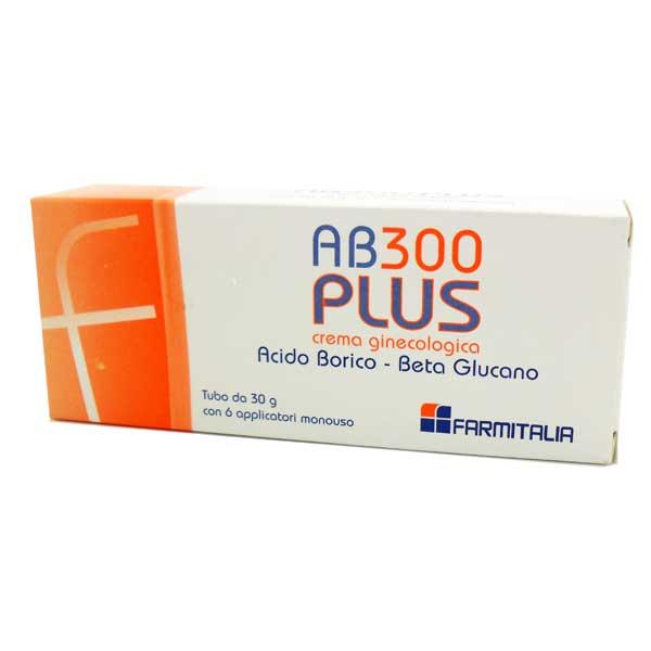 AB 300 PLUS CREMA GINECOLOGICA C/6 APPLICATORI
