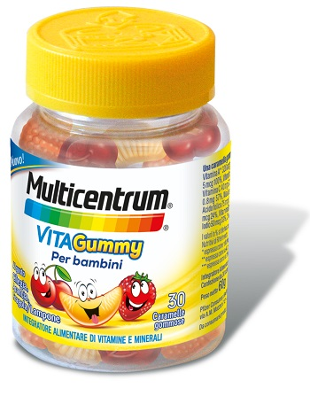 MULTICENTRUM VITAGUMMY 30 CARAMELLE