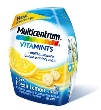 MULTICENTRUM VITAMINTS FRESH LEMON 50 CARAMELLE