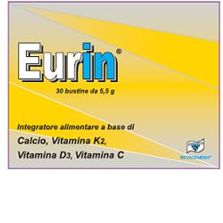 EURin $
