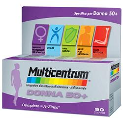 MULTICENTRUM DONNA 50+  90 COMPRESSE